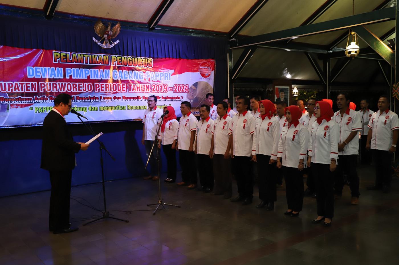 DPC PAPPRI Kabupaten Purworejo Dilantik
