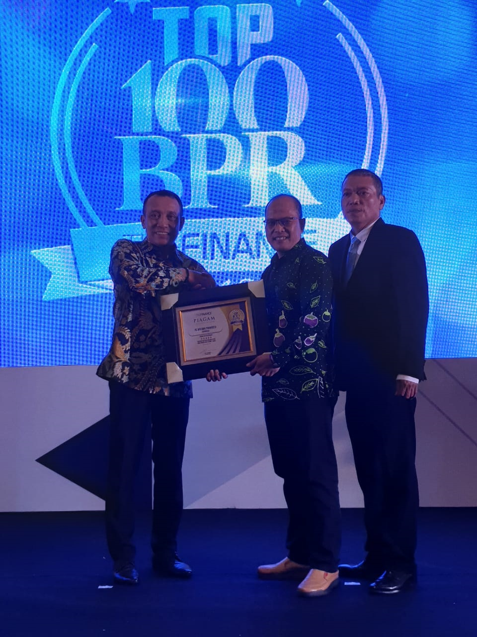 PD BPR Bank Purworejo Raih Penghargaan