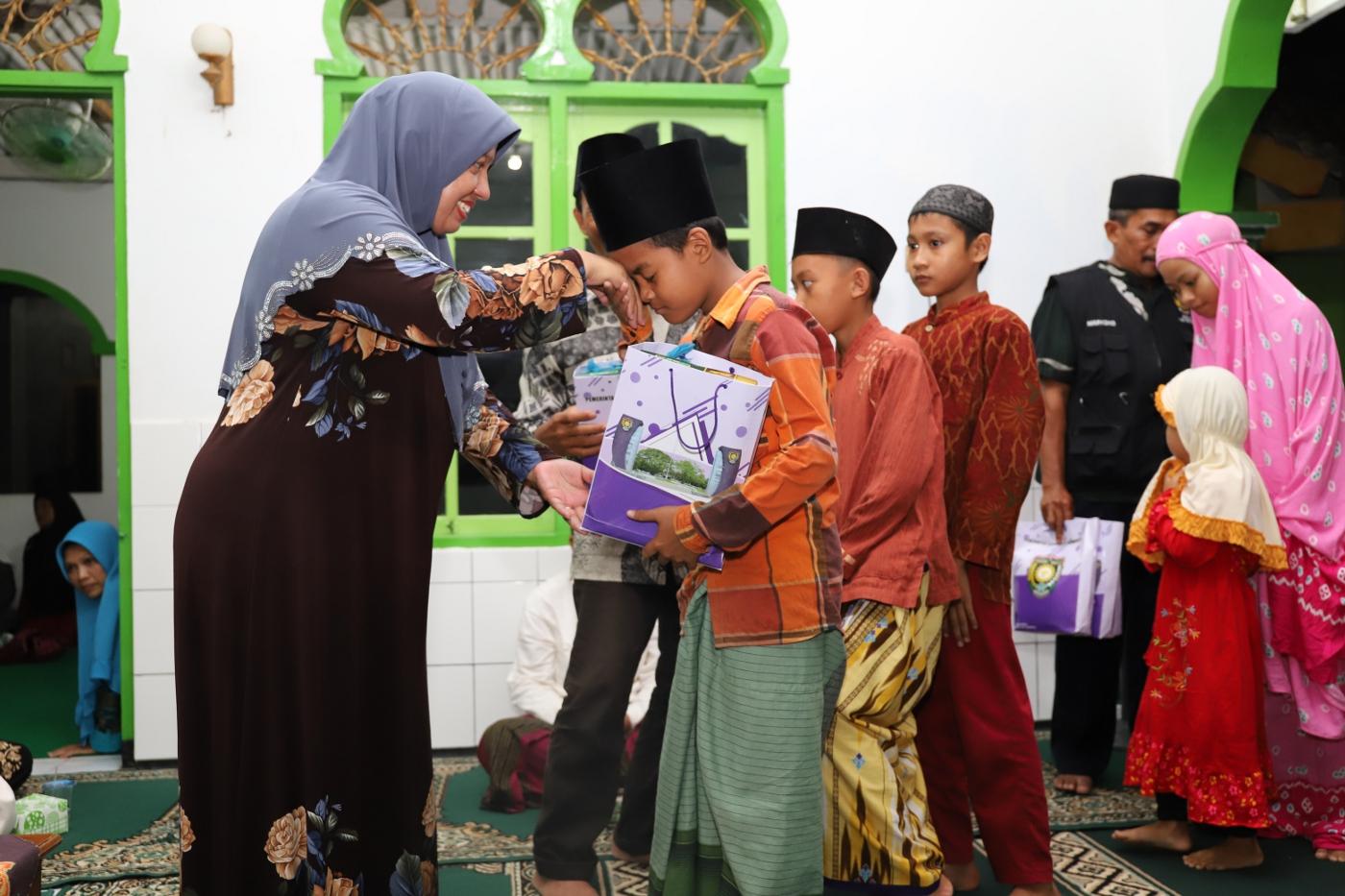Jalin Silaturahmi Dengan Warga, Wakil Bupati Tarhim di Pituruh