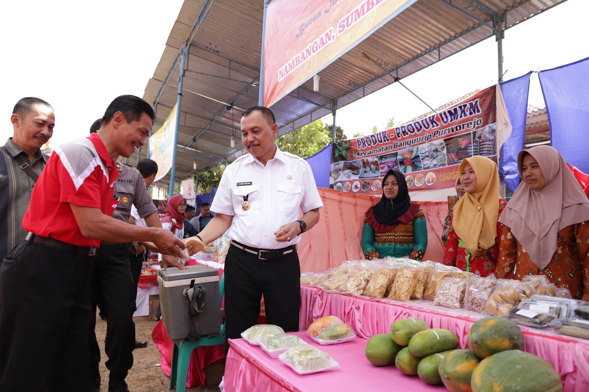 Bupati Buka Bursa Inovasi Desa 2019 Kecamatan Grabag