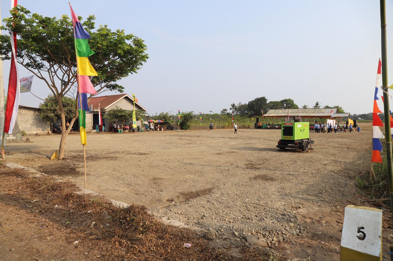 Sambut Hadirnya YIA, Desa Depokrejo Bangun Rest Area