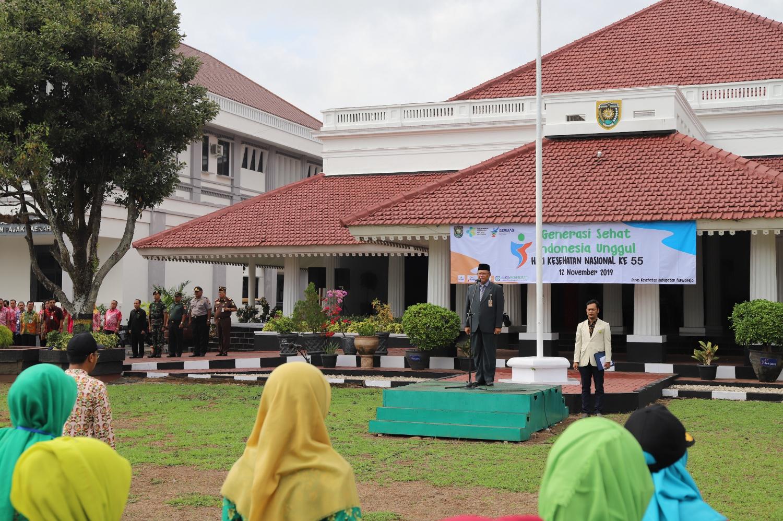 Pemkab Purworejo Gelar Upacara HKN ke-55 Tahun 2019