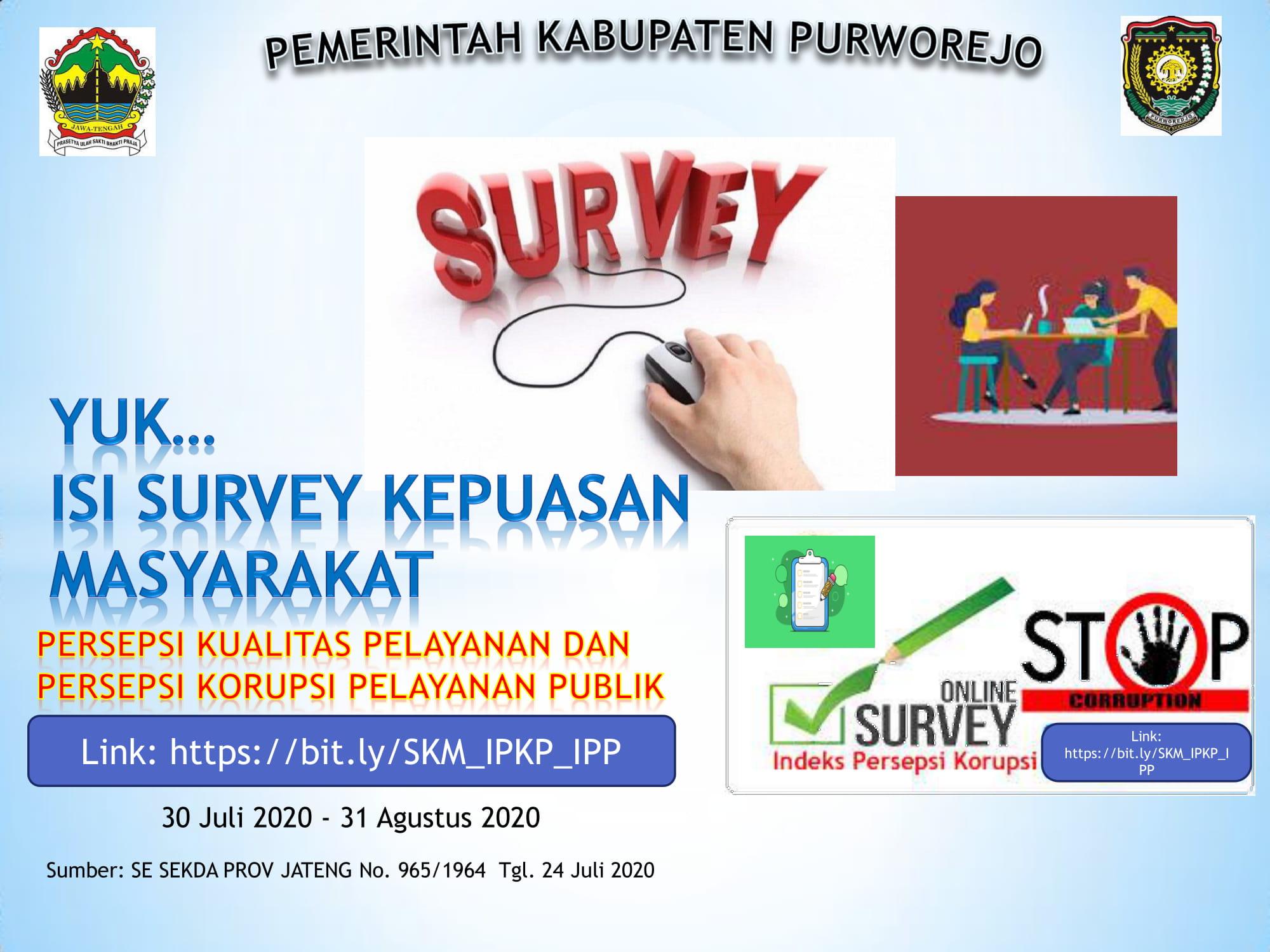 Survey Kepuasan Masyarakat Provinsi Jawa Tengah